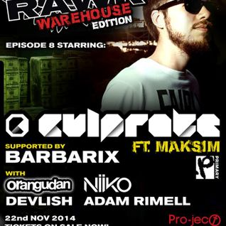 Orangudan RAWK Warehouse (22.11.14) Promo Mix
