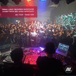 Mladen Tomic b2b Sinisa Tamamovic at Night Light Showcase @ DKC Incel, BL, BiH, 04.12.2015.