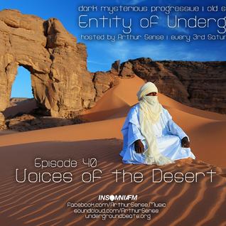 Arthur Sense - Entity of Underground #040: Voices of the Desert [December 2014] on Insomniafm.com