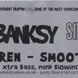 Tom + Banksy (Smokescreen), deep cartel @ the casbar, exeter, Feb 2002