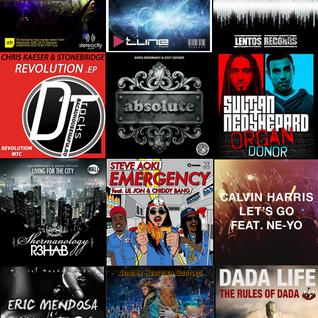 November 2012 Electro House Mix Radio Show #1 (Jeremy Kesseler)