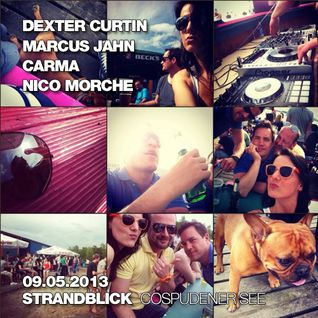 Dexter Curtin, Marcus Jahn, Carma, Nico Morche - Live at Beach Party, Cospudener See 09-05-2013 #02