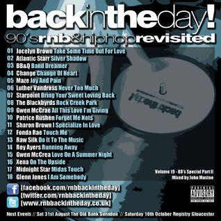 BackInTheDay! 90's Anthems Volume 19