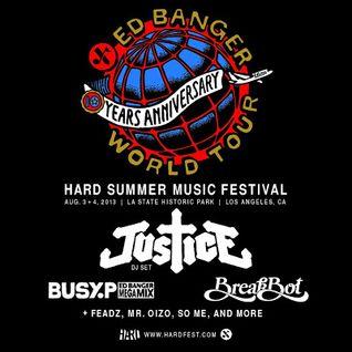 Justice @ Hard Summer Festival LA - (04.08.13)