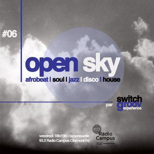 Open Sky #06 by SG Exp.| incl. Donald Harrison, exclusive Segun Ola, Crown City Rockers, Anzala...