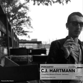 Frequenza Podcast07 - C.J. Hartmann