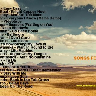 SONGS FOR MAY 2014