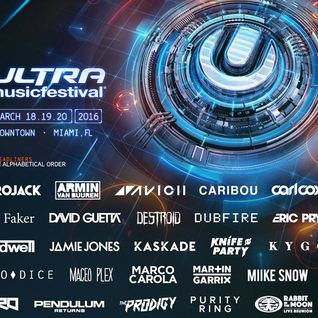 Richie Hawtin - Live @ Ultra Music Festival 2016 (Miami) - 19.03.2016