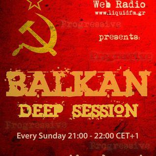 Abraham A. - Balkan Deep Session 165  [Liquid Radio] 13th november 2016