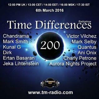 Jeka Lihtenstein-guest mix Time Differences Radioshow 200 on TM Radio (6th March 2016)