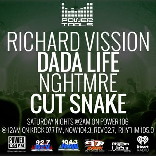 Powertools Mixshow - Episode 3-26-16 Ft: Dada Life, NGHTMRE, & Cut Snake