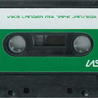 VIKS LANDER - deep/space disco mix tape, jan/2011