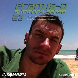 Franzis-D - Auditory Sense 063 @ InsomniaFm - Aug 14, 2014