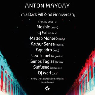 CJ Art - I'm a Dark Pill 2-nd Anniversary Guest Mix on TM Radio [26.12.2015]