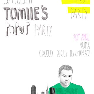 Satoshi Tomiie - Live at PopUp Party, Roma, Italy (10-04-2012)