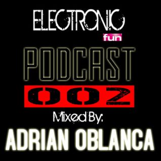 "Adrian Oblanca @ELECTRONIC FUN RADIO ( LOCA FM ) ""SALAMANCA"""