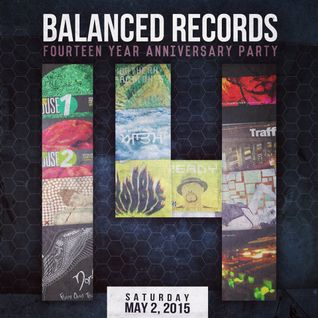 "Balanced Records 14th Anniversary Party practice set ""The Night Before"""