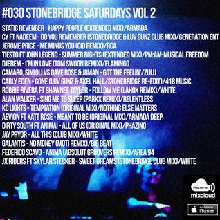 #030 StoneBridge Saturdays Vol 2