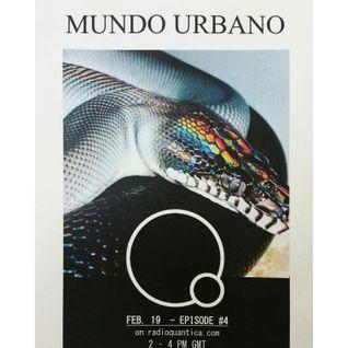 Mundo Urbano #4 (19/02/2016)