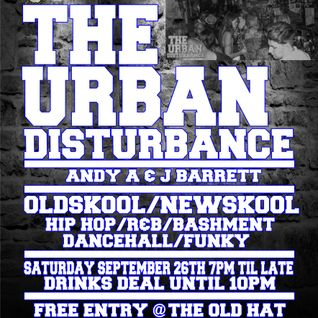 The Urban Disturbance Live Recording PT1 @TheOldHat every last Friday ESSEX Southend