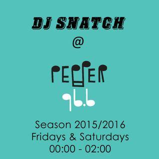 DJ SNATCH @PEPPER 96.6 (23.07.2016)