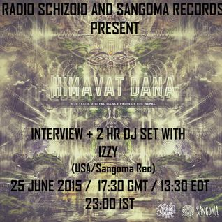 Dj Izzy [Sangoma Records] - Himavat Dana Dj Set - June 2015