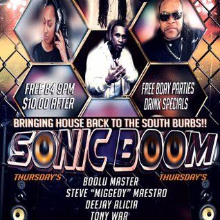 A Night @ Hot Shotz Sports Club - Sonic Booom!!! Thursdays - 28 July 2016