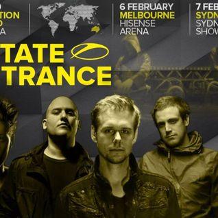 Armin van Buuren Warm up - Live at A State of Trance 700 Sydney(07.02.2015)