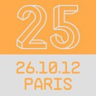 Laurent garnier live @ rex club 25 years dj 26/10/2012 Full mix 4 hours Lemouv