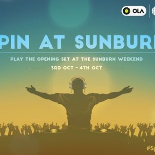 Sunburn opening set #SpinWithOLA @olacabs