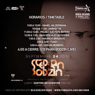 Opening set for Stephan Bodzin at The End - Bogota