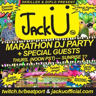 A-trak - Live @ 24 Hours of Jack U - 26.02.2015