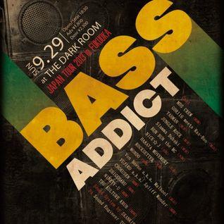 BASS ADDICT JAPAN TOUR in FUKUOKA 20130929 at THE DARK ROOM