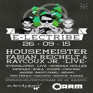 Evensloped (Live PA) @ e-lectribe - A.R.M. Kassel - 26.09.2015