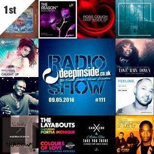 DEEPINSIDE RADIO SHOW 111 (Kenny Carpenter Artist of the week)