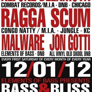 Ragga Scum Live @ Bass & Bliss (STL) 12-01-12