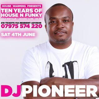"DJ Pioneer's ""Ten Years Of House Warming"" Promo Mix"