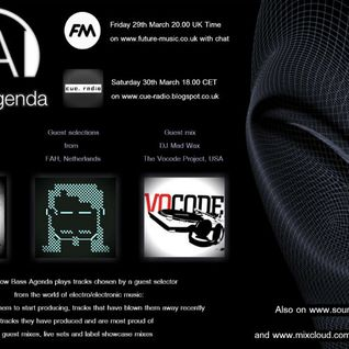 Bass Agenda 50 with Techno Fix, guest selections from FAH & mix by DJ Mad Wax