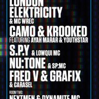 Fred V & Grafix Hospitality Brixton 06/04/12 Mix