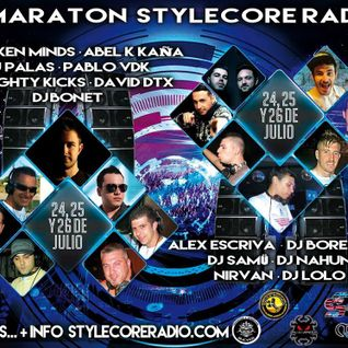 Alex Escrivá @ Maratón Stylecore Radio (26-07-2015)