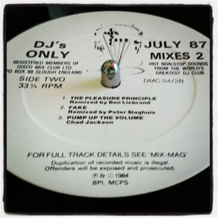 Janet Jackson - The PLeasure principle (Ben Liebrand DMC mix 1987)