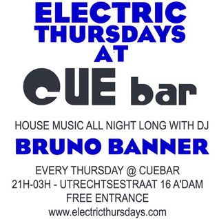Bruno Banner @ Electric Thursdays - 08.03.2012 / CueBar - Part 1