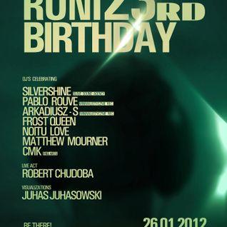 Matthew Mourner on DJ RONIs B-Day Party @ Fabryka Club