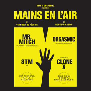 MAINS EN L'AIR mixtape by ORGASMIC