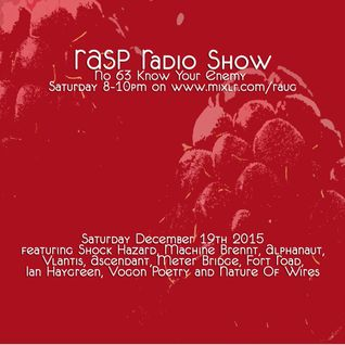 RASP Radio Show No.63 Know Your Enemy 19-12-15