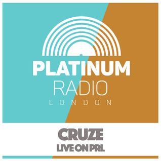 Cruze / Saturday Progressions 30th April 2016 @ 8pm - Recorded live on PRLlive.com