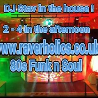 DJ Stav (MPThree Disco) LIVE with 80s Funk and Soul Classics on Raverholics
