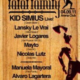 Alvaro Lagartera @ Arena Club (Berlin, 04.09.11)