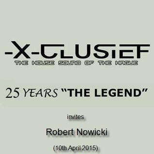 X-Clusief Fm The Hague invites Robert Nowicki (10th April 2015)