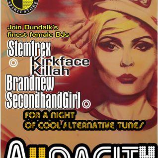 DJ Brandnew SecondHand Girl's set at Audacity Spirit Store